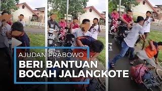 Viral Video Bocah Penjual Gorengan Dibully, Orang Dekat Prabowo Geregetan dan Lakukan Hal Mulia