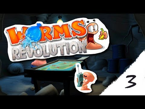Už som chytal rage! #Worms Revolution 3