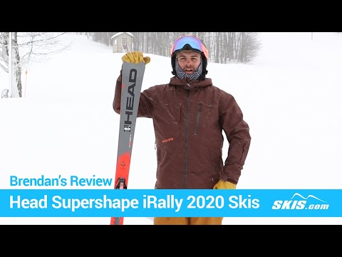 Video: Head Supershape iRally Skis 2020 3 45