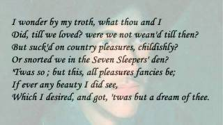 """The Good Morrow"" by John Donne (read by Tom O"