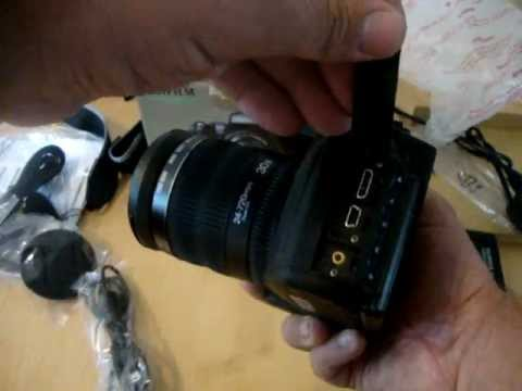 Unboxing of the Finepix HS30EXR