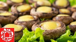 Идеальная быстрая закуска с грибами за 10 минут. Съедается как семечки