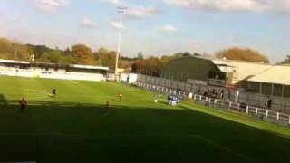 preview picture of video 'Jason Walker (York City FC) free-kick versus Hayes & Yeading 22.10.2011'