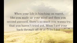 Jason Mraz -  Rely On Me  Lyrics