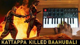 Bahubali 2 - Heart Breaking sad Bgm | Cover By Raj Bharath #Prabhas,Anushka Shetty SS Rajamouli