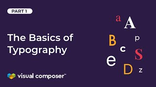 The Basics Of Typography