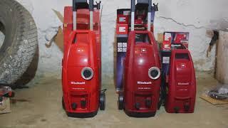 Сравнение Моек высокого давления ! Мойка Einhell TC HP 1538 PC, TC HP 1334, TC HP 2042 PC