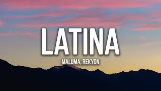 Reykon, Maluma - Latina (Lyrics / Letra)
