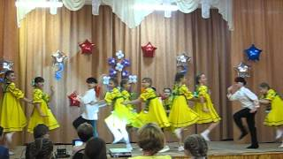 """Концерт на 8 Марта 2016 г., Танец """"Вася-Василек"""", 4 класс ОЭО."""