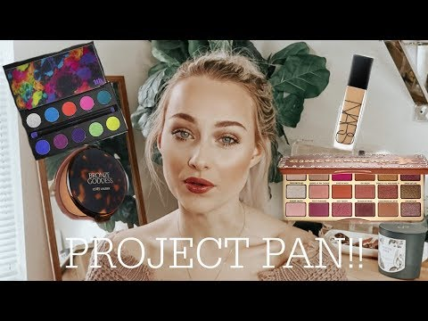 PROJECT PAN INTRO 2019! Makeup I'm Trying To Use Up