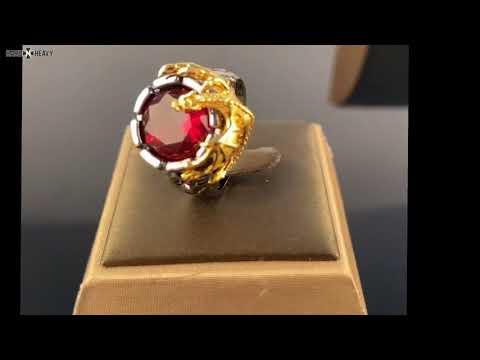 Domineering Dragon Ring / Alternative Fashion Jewelry / Cool women & mens rings