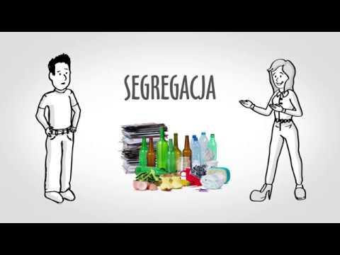 Nowy system segregacji odpadów - spot edukacyjno-informacyjny
