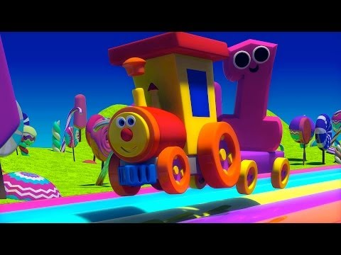Nursery Rhymes By Kids Baby Club - Ben The Train - Ben And The Numbers In Candy Land