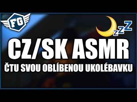 CZ/SK ASMR - ČTU SVOU OBLÍBENOU UKOLÉBAVKU