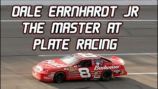 NASCAR Dale Earnhardt Jr - The Master At Restrictor Plate Racing | Voiced By : Na9afan