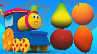 บ๊อบผลไม้รถไฟ | ผลไม้สำหรับเด็ก | Fruits Name | Bob Train For Kids | Learn Fruits | Bob Fruits Train