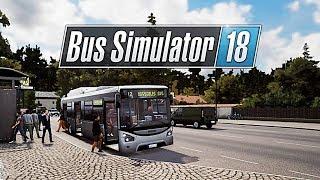 НОВЫЙ АВТОБУС - IVECO URBANWAY - Bus Simulator 18 [#10]