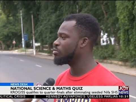 National Science & Maths Quiz - News Desk on JoyNews (27-6-18)