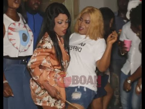 Regina Chukwu, Kenny George and Other Movie Stars Scatters The Dance Floor At Her Birthday Party