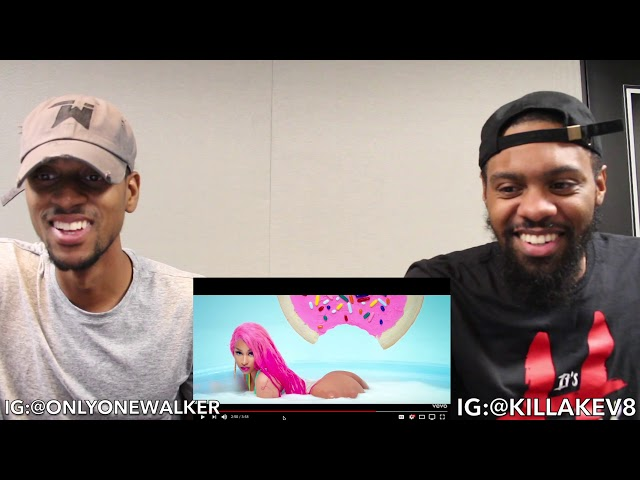 Nicki Minaj - Good Form ft  Lil Wayne REACTION   KEVINKEV