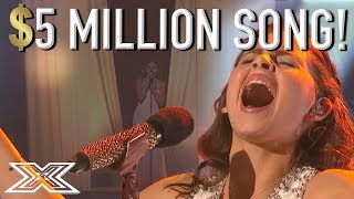 13 Y.O Finalist Carly Rose Sonenclar Performs Her 5 Million Dollar Song! | X Factor Global