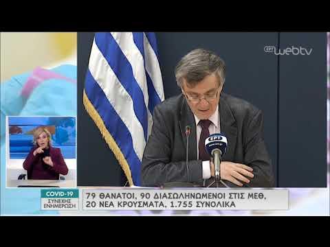 H ενημέρωση του Υπ.Υγείας για την εξέλιξη του Κορονοϊού | 06/04/2020 | ΕΡΤ