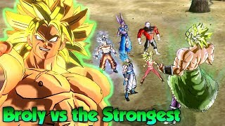 DBS Broly Is A MONSTER! Fighting Legendary Warriors! - Dragon Ball Xenoverse 2