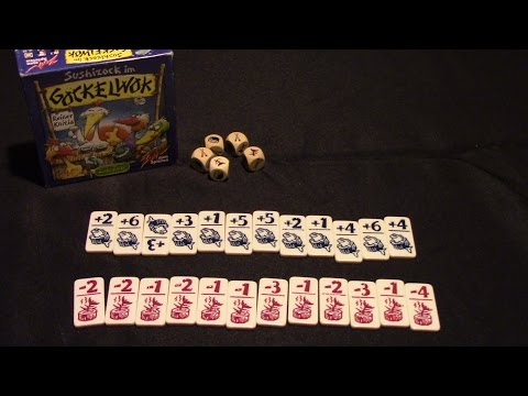 Jeremy Reviews It... -  Sushizock im Gockelwok Dice Game Review