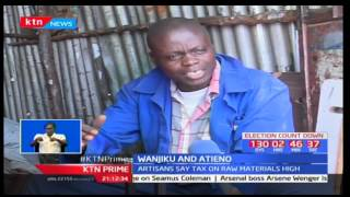 Part of citizens working in Jua Kali sector feel they have been left out by the government