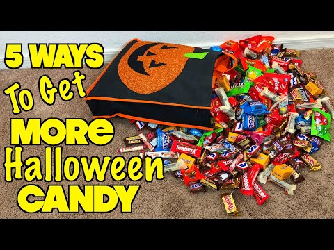 5 Ways To Get More Halloween Candy - PART 3 ( Must Try) Trick Or Treat Ideas | Nextraker Mp3