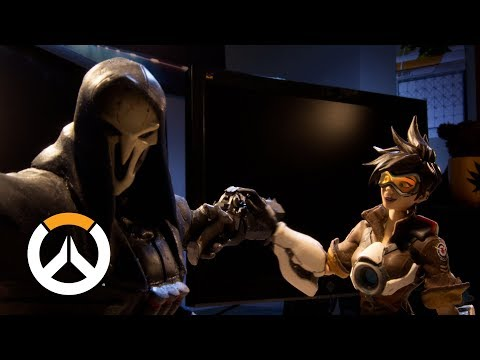 Trace & Bake Stop Motion Video Celebrates 2 Years of Overwatch