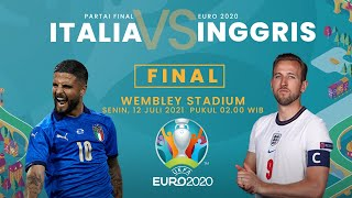 Prediksi Susunan Line-up Pemain Italia vs Inggris di Final Euro 2020 Lengkap dengan Head to Head