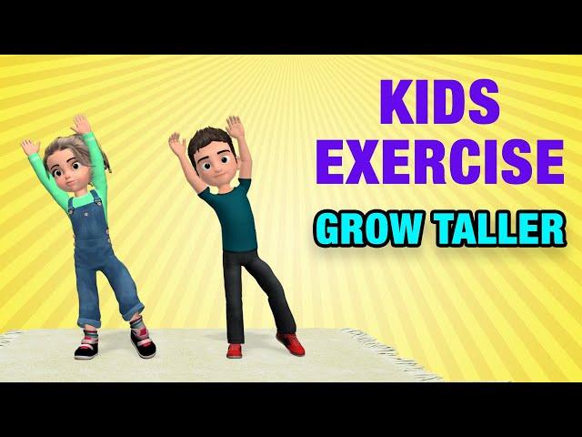 Kids Exercises To Grow Taller: Home Activities