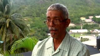 Derek and Roderick Walcott video documentary