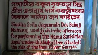 preview picture of video 'Kartick NMP Day 4 Part 4. Bhajan Khutir and Samadhi of H.H. Jagannath dasa Babaji.'