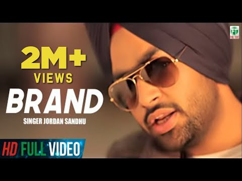 Download Brand | Jordan Sandhu Official Full Music Video | 2014 | Finetone HD Video