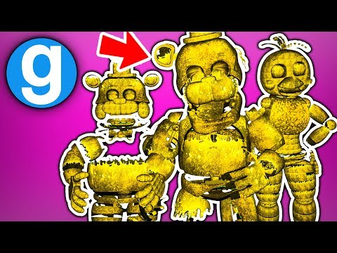 Gmod Fnaf - WHICH FNAF 2 PILL PACK ANIMATRONIC IS EVIL