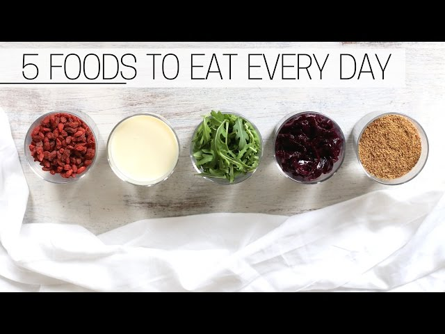 5 FOODS I EAT EVERYDAY » and so could you