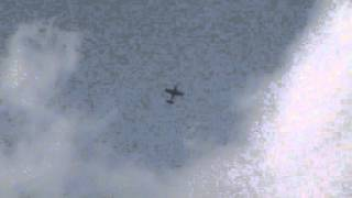 preview picture of video 'Aerobatic airplanes practising above the Lake of Swarzędz, polluting the area with noise 2012-08-18'