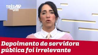 Bruna Torlay: CPI da Covid convoca e desconvoca segundo conveniências políticas