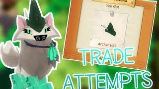 ANIMAL JAM PLAY WILD - TRADE ATTEMPTS: ARCHER HAT