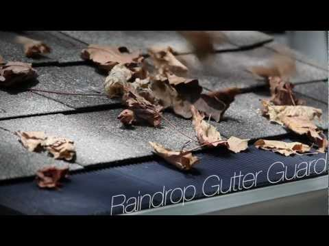 Wind and Water Test for RainDrop Gutter Guard