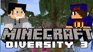 😂 Elytra W Łapę I Cza Cza Cza 😂 Minecraft Diversity 3 [9x] W GamerSpace