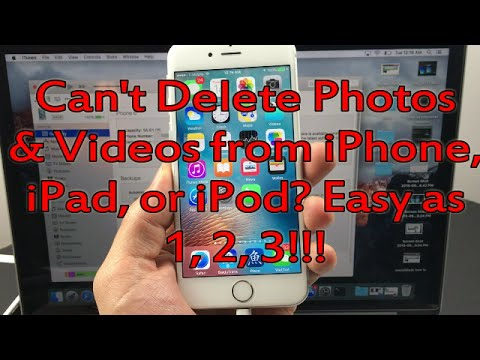 All iPhones: How to Delete
