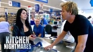 Restaurant Owner Buys Food from Supermarket - Kitchen Nightmares