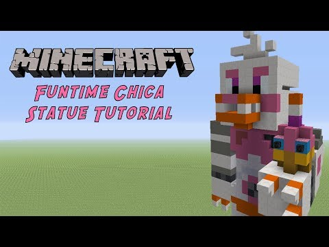 Minecraft Tutorial: Twisted Chica (FNAF : The Twisted Ones
