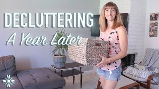 Decluttering Results - A Year Of Decluttering - Minimalism Family of 4