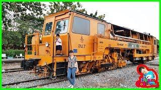 น้องบีม | รถไฟของจริง VS รถไฟของเล่น Train Toys