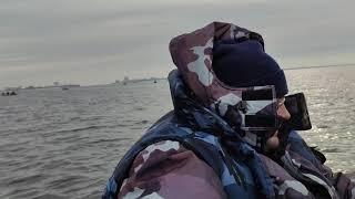 Рыбалка на дамбе финского залива 2020 марта
