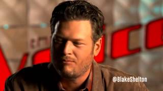 Blake Shelton talks about friendship with Danielle Bradbery (Interview)